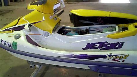 Kawasaki 750 Jet Ski by Lot 1436a 1999 Kawasaki 750 Xi Sport Jet Ski