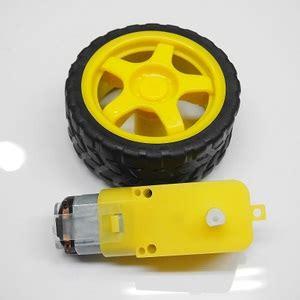 Motor Dc Gearbox 3v 6v Kuning Roda Hitam Untuk Smart Car Mobil 1 motor gearbox 6v 200 rpm roda kuning jual arduino jual arduino jogja toko arduino