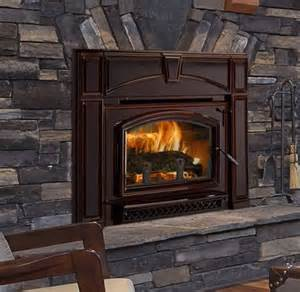 quadra voyageur grand wood fireplace insert with