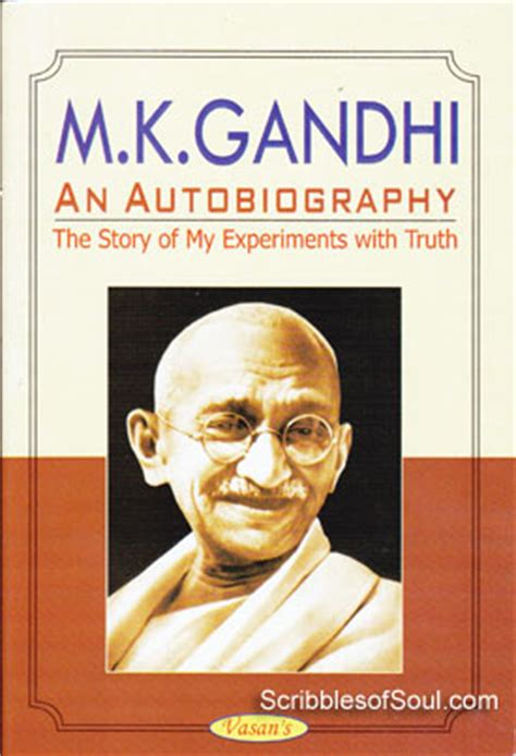 biography book mahatma gandhi the story of my experiments with truth an autobiography