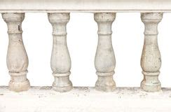 stone banister stone baroque baluster and staircase stock photo image