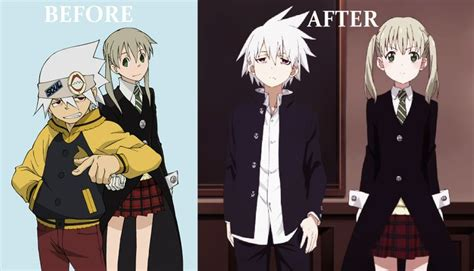 soul eater not soul and maka comparison anime soul eater