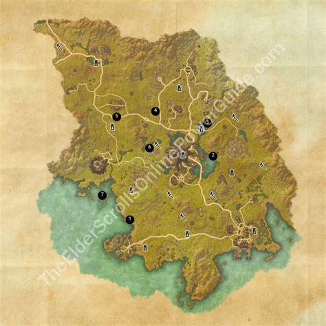 betnikh treasure map eso treasure maps guides