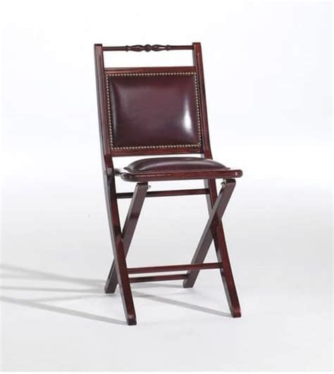 sedia pieghevole imbottita sedia pieghevole imbottita in stile classico idfdesign