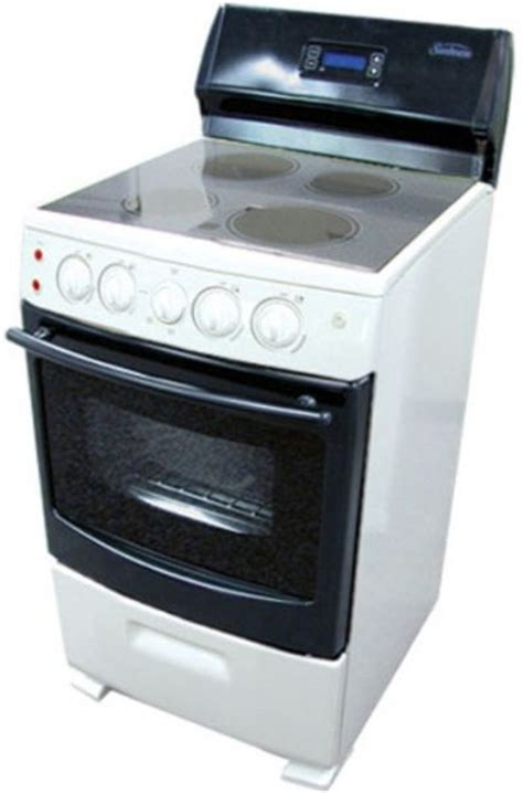 Cleaning Stainless Steel Oven Racks by Sunbeam Sns2emlxas Freestanding Electric Range With 4