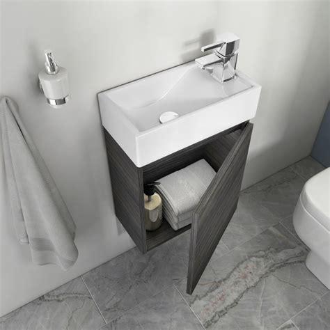 hacienda  wall vanity unit grey small buy