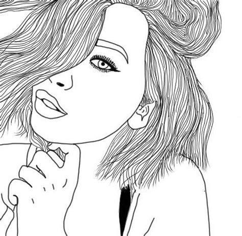 tumblr outlines | outlines | pinterest | outlines, girl