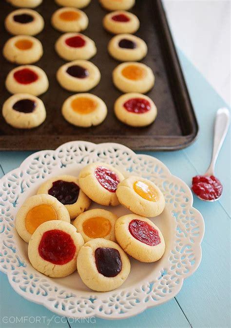 Delcious Yam Cookies jam thumbprint cookies