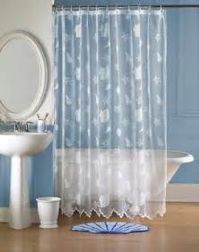 sea themed shower curtains shower curtains seashells interior decorating