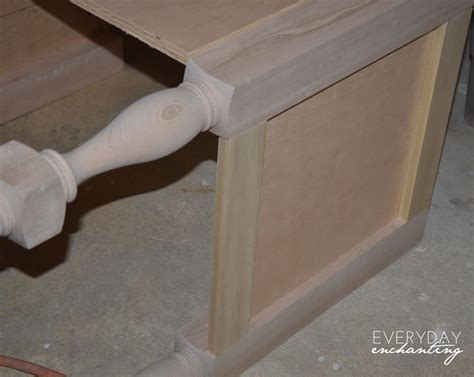 pottery barn sink console diy pottery barn inspired sink console vanity tutorial