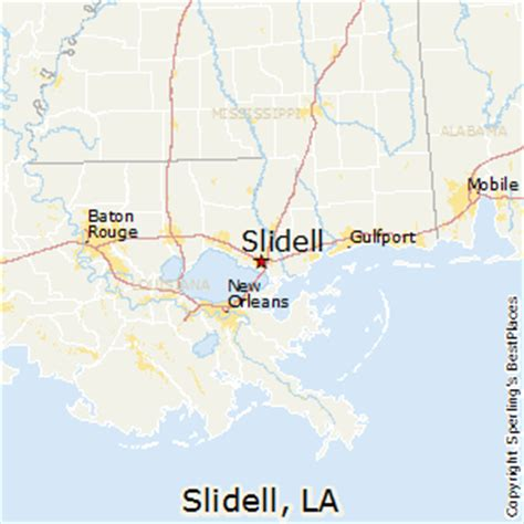 la live map best places to live in slidell louisiana