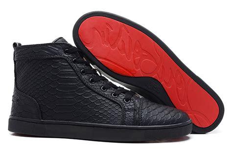 louie vuitton black studded bottom sneakers fashion