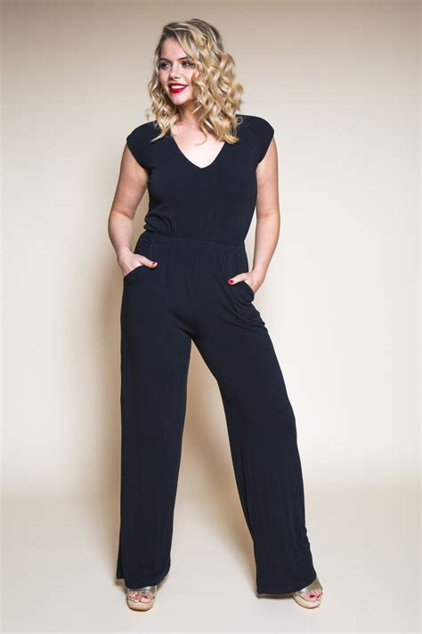 simple jumpsuit pattern pattern refresh the sallie jumpsuit closet case patterns