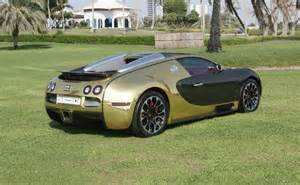 Bugatti Gold Chrome Bugatti Veyron Grand Sport Vitesse Black And Gold Chrome