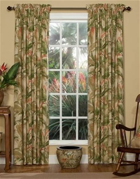 tropical curtains window treatments tropical curtains for your hawaiian home the hawaiian