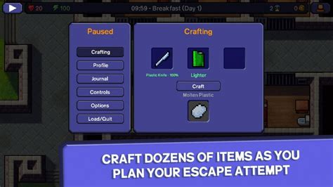 how to craft escapist the escapists android screens and art gallery cubed3