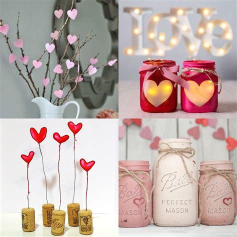 decorazioni per la casa fai da te idee fai da te per decorare la casa per san valentino