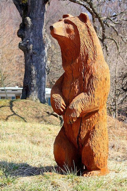 chainsaw beaver carvings  sale bear chainsaw carving