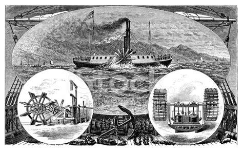 barco de vapor de robert fulton robert fulton s first steamboat stock photos freeimages