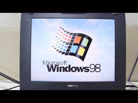toshiba satellite cdt windows  laptop youtube