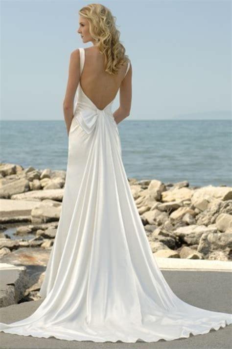 Brautkleider Strand by Backless Wedding Dresses Dressed Up