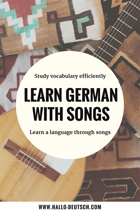 Learn A Language With Songs Improve Your Vocabuary And