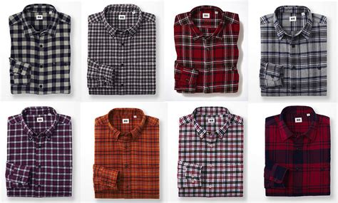 Uniqlo Flannel Shirt uniqlo flannel checked sleeve shirts yes squire