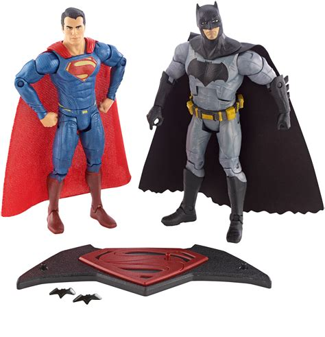 Batman V Superman 2 batman v superman of justice toys revealed