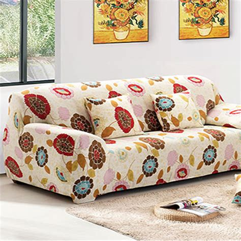 slipcover pattern sofa cover capa de sofa sunflower pattern sofa slipcover
