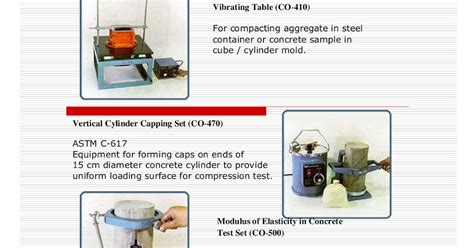 Vertical Cylinder Capping Set Co 470 laboratory equipments in brochure manual price list