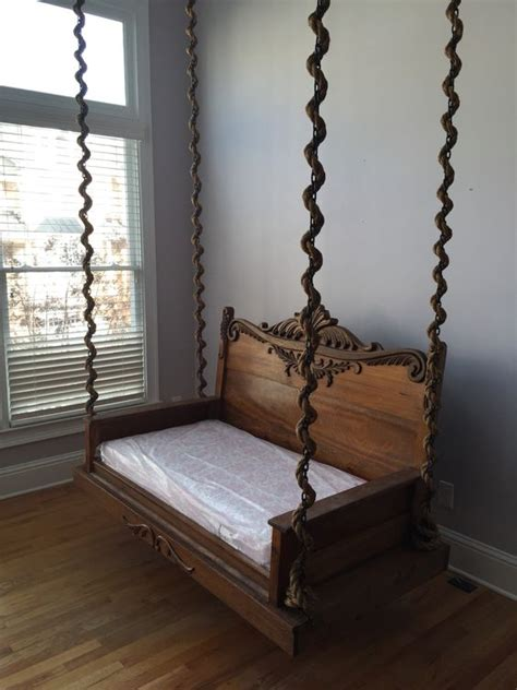 Crib Porch Swing by Viverito Project Custom Porch Swing Made From A