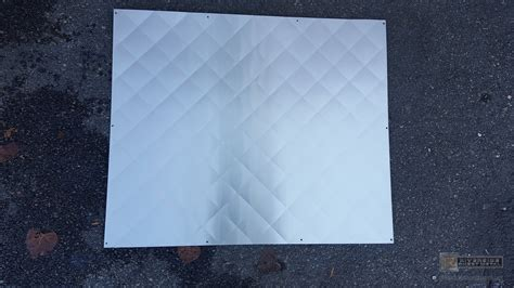 quilted diamond pattern quilted stainless steel backsplash