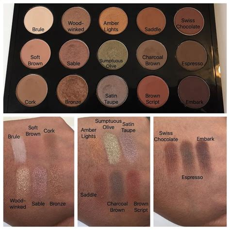 Mac Single Eyeshadow best 25 mac eyeshadow swatches ideas on mac