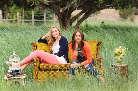 Friends On by Senior Shoot Best Friends The Two Bright