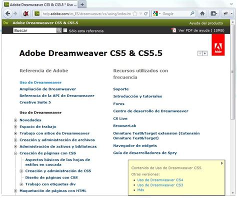 tutorial adobe dreamweaver cs6 español pdf free download adobe dreamweaver cs4 pdf manual programs