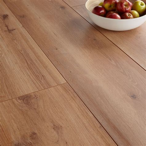 Princeps Montana Oak Effect Wide Plank Laminate Flooring 1