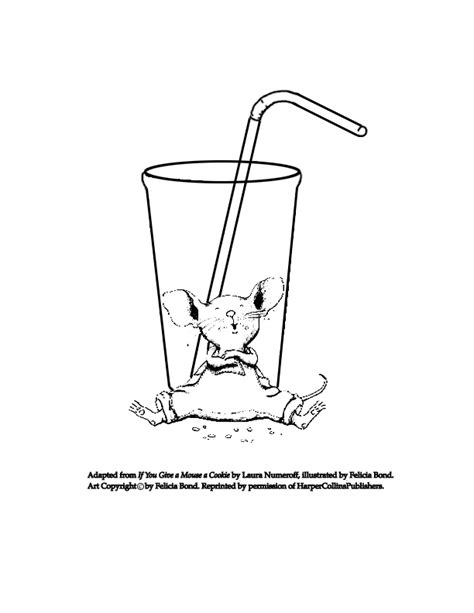 if you take a mouse to school coloring page vitlt com