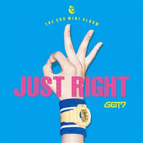 list the 3rd mini album just right got7 pinkminmi