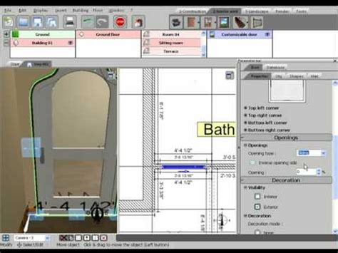 tutorial 3d home design by livecad 3d home design by livecad tutorials 05 the doors youtube