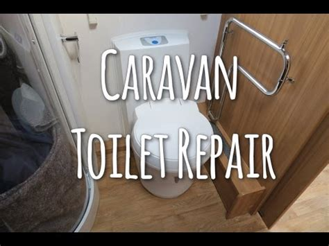 removing a thetford toilet fixing a thetford c250 cassette indicator youtube