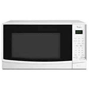 shop whirlpool 0 7 cu ft 700 watt countertop microwave