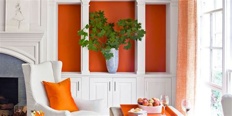 home decor by color decorating with orange accents orange home decor