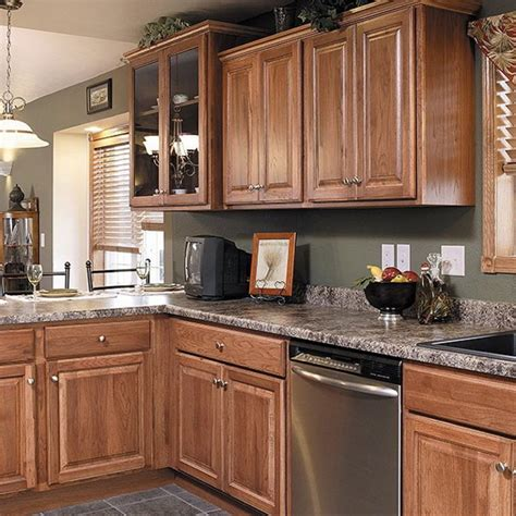 kitchen colors with hickory cabinets marble countertops with hickory cabinets maple whiskey