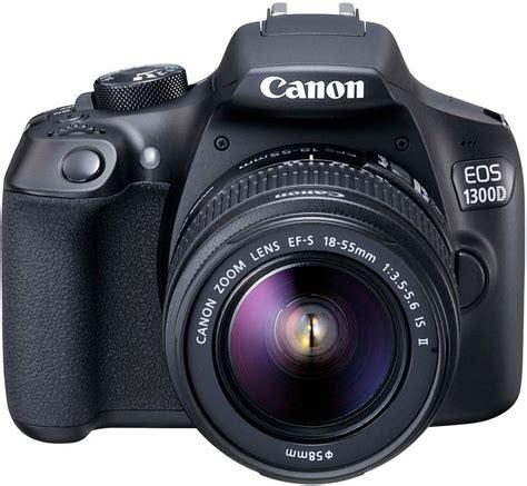 Kamera Canon Eos 1100d Kit Ef S18 55mm canon eos 1300d kit spiegelreflex kamera ef s 18 55mm is ii zoom 18 megapixel kaufen otto