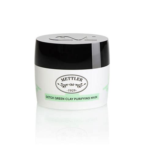 Green Clay Detox by Mettler Detox Green Clay Purifying Mask Swissqpro