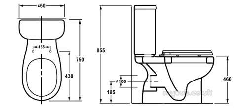 Wc Height From Floor by Akw Raised Height Cc Toilet Pan 23162 Akw