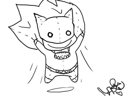 batman head coloring page batman outline by solbiimelody on deviantart