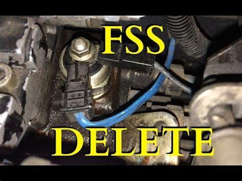fuel shutoff solenoid fss delete  gen dodge