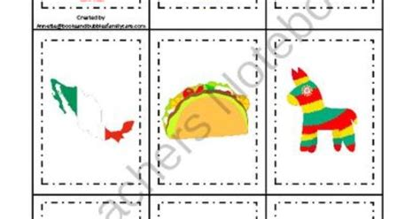 kindergarten activities mexico mexico themed memory matching preschool learning game