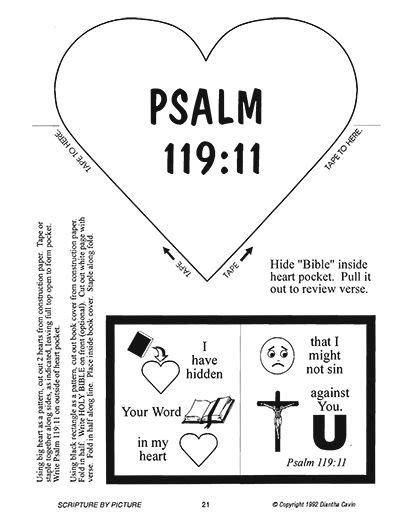 Printable Version Of Psalm 119 | 17 best images about a summer of psalms activities on